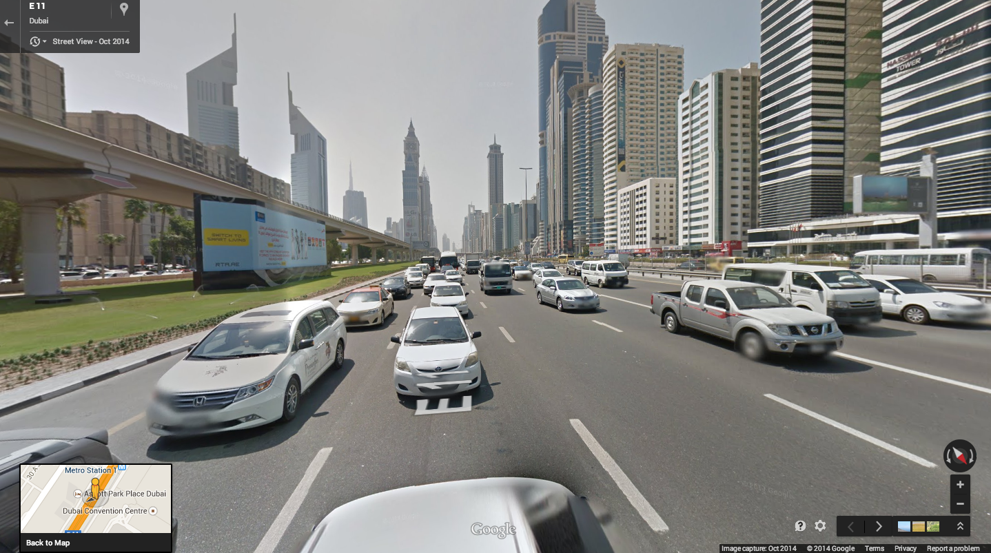 Google Launches Street View In Dubai Business Construction