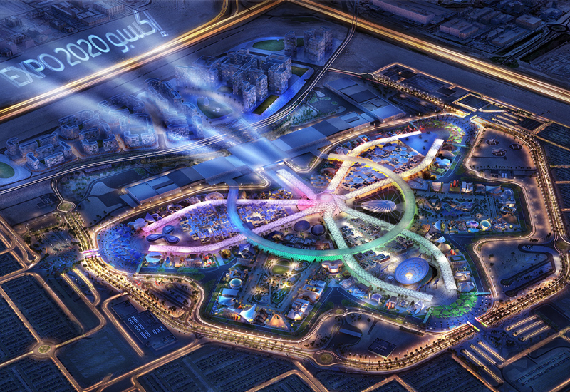 Construction of Expo 2020 Dubai's three Thematic Districts complete