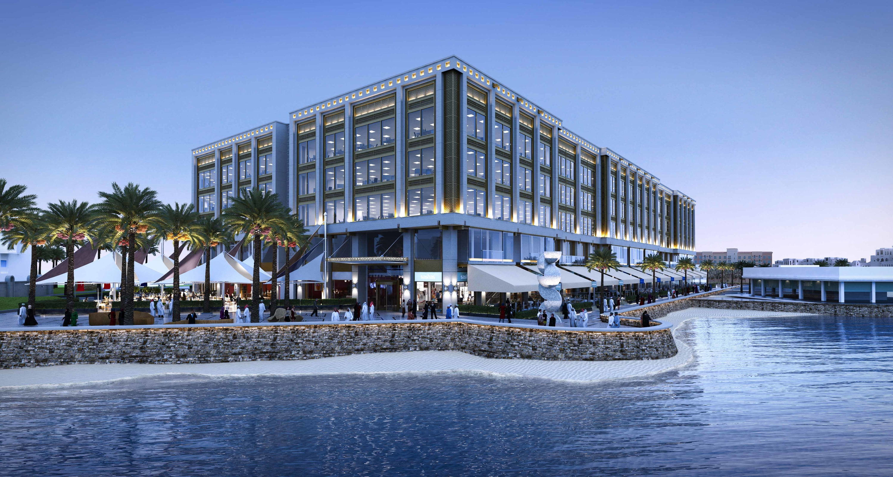 Muscat's Water-Front Project Awarded Leed Gold