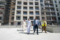 PICTURES: Shurooq exec chair visits Maryam Island project in Sharjah