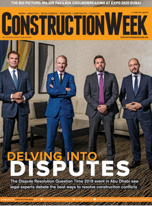 Construction Week Middle East 9th Nov 2019