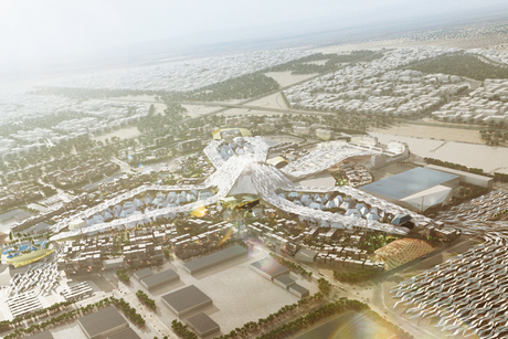 When will Dubai Expo 2020 site infra works begin?