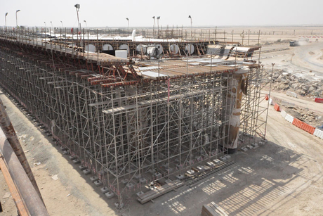 In pictures: Formwork at Abu Dhabi-Dubai highway