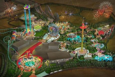 Construction begins at $707m Six Flags theme park