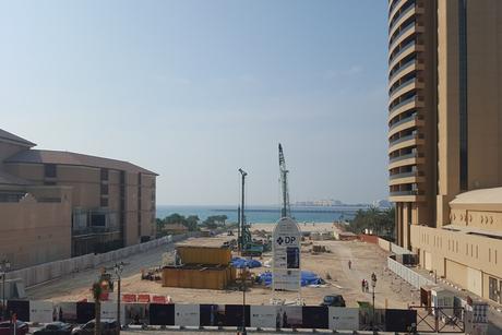 Construction begins at Dubai Properties' 1/JBR