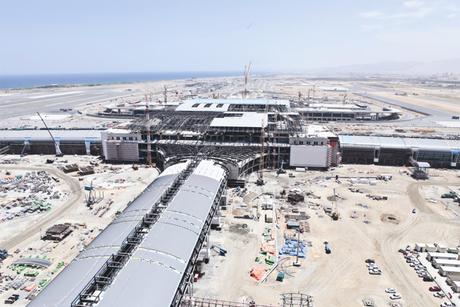Muscat Int'l Airport passenger terminal 91% built