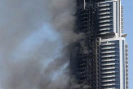 'No fire safety issue with cladding on buildings'