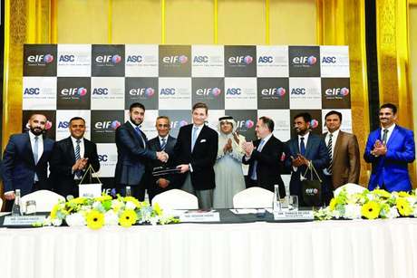 ASC official distributor of ELF brand in Qatar