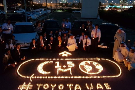 Toyota Hybrids save 1.5 million moon trips of fuel
