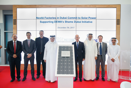 Nestlé signs solar contracts for three Dubai manufacturing sites