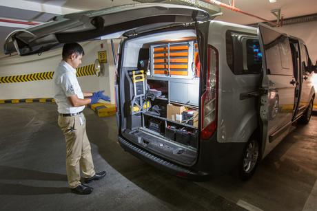 Al Tayer Motors introduces mobile service centre