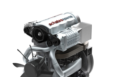 Achates unveils opposed-piston engine for light duty trucks