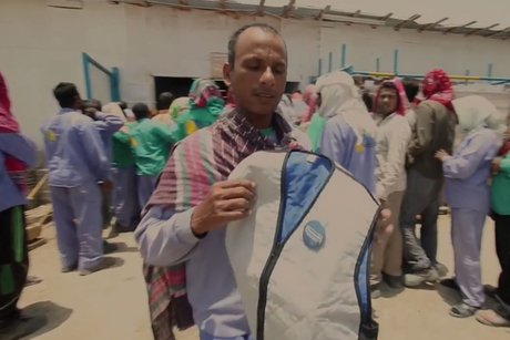 Emirates NBD provides A/C vests for UAE labourers