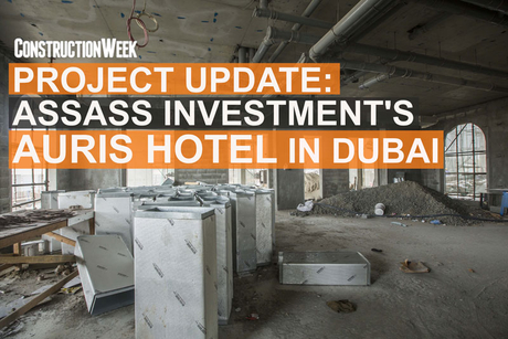 Video: Dubai's $16m Auris Hotel to be completed in August 2018
