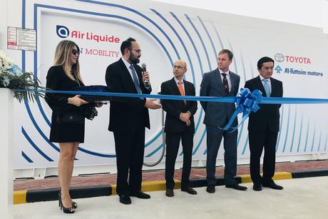 Al-Futtaim Motors opens first UAE hydrogen re-fuelling station