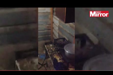 Video: Al Khor labour camp, Qatar [Daily Mirror]