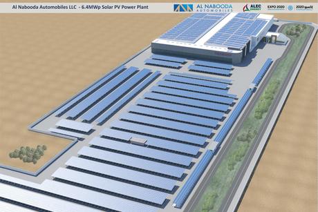 UAE: ALEC Energy wins 6.8MW solar plant contract