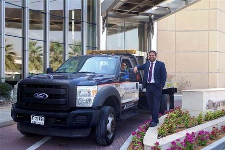 Ford F-550 in Al Tayer Motors fleet drives a million km in 2,000 days