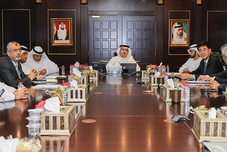 DEWA strengthens ties with Meydan Group