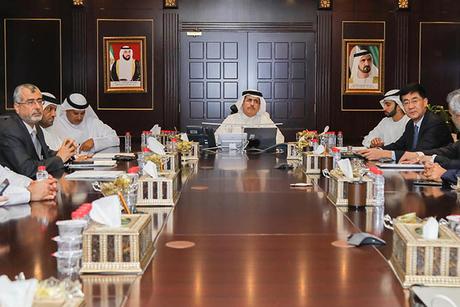 DEWA strengthens ties with Meydan Group