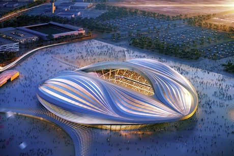 "Qatar: ""Work-related"" death at World Cup stadium"