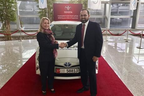 Al-Futtaim Motors donates Toyota Prius to EWS-WWF