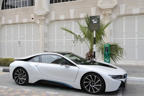 Al Qasba launches free vehicle-charging stations