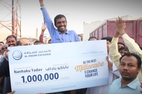 Indian construction worker wins $272,000 lottery