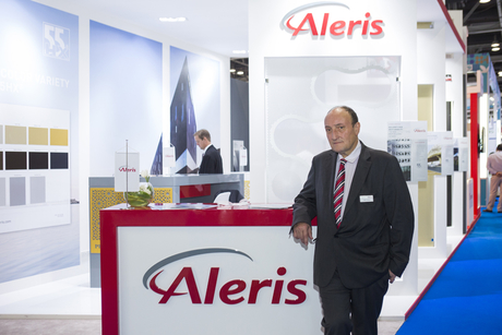Big 5: Aleris showcases anodised aluminium to GCC
