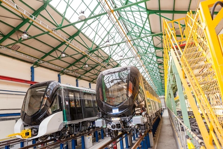 Alstom delivers the first metro trainset to Riyadh