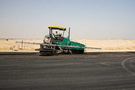 Site visit: Formula 1 racetrack, Kuwait Motor Town