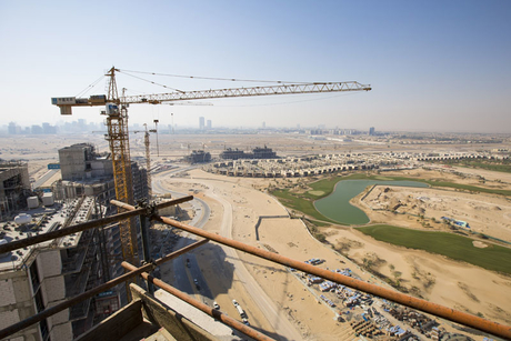 In Pictures: Damac's Artesia construction site in Dubai