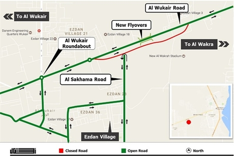 Qatar's Ashghal to open 1.6km stretch of road in south of country