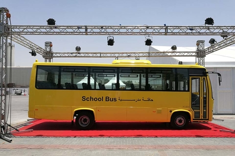 UAE's ET unveils China-made zero-emission school bus