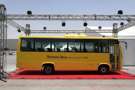 UAE's ET unveils China-made zero-emission school bus