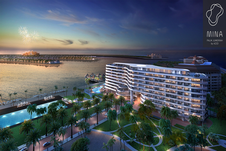Azizi unveils $204m hotel apartments on the Palm
