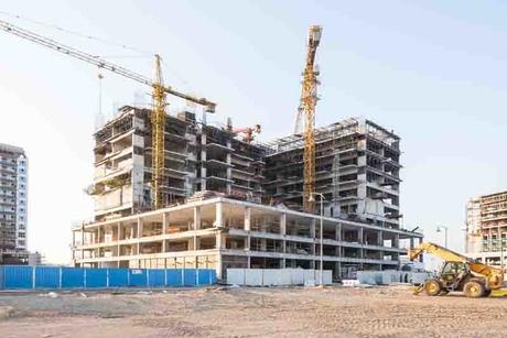 Structure of Dubai's 284-home Azizi Shaista completed