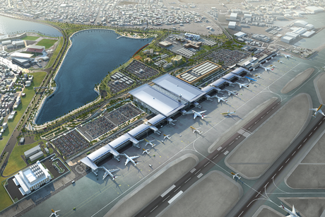 Fuel conveyance pipes installed for $1bn Bahrain Int'l Airport