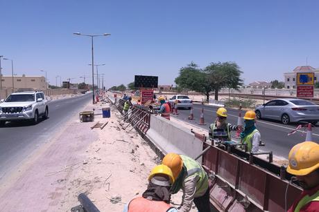 Bahrain finishes major road revamp work