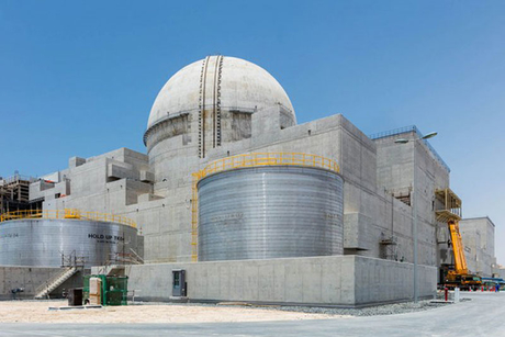 Unit 1 of UAE's Barakah power plant nears completion