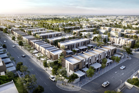 Arada's Nasma homes project in Sharjah 35% complete