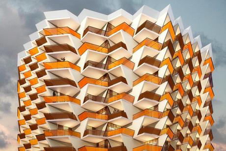 Structural work on $30m Binghatti Sapphires in Dubai done