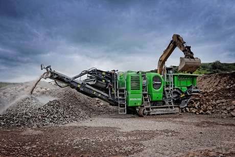 Evoquip launches compact track mobile jaw crusher