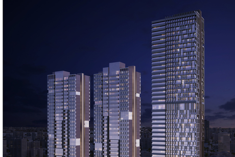 Enabling works completed for Bloom Towers in Dubai
