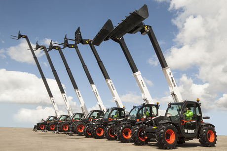 Bobcat launches 11 new telehandlers in Middle East