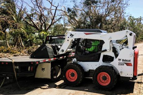 Bobcat donates $325,000 in equipment for hurricane relief efforts