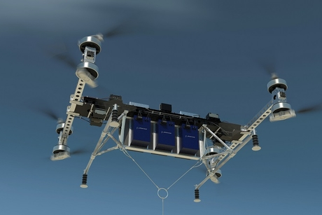 Boeing's new cargo air vehicle prototype can carry up to 226kg