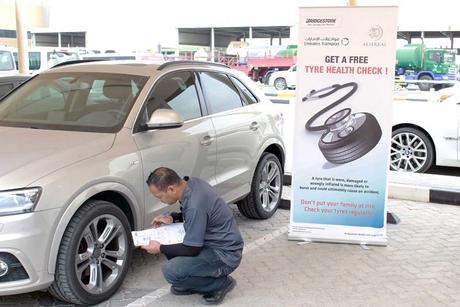 Bridgestone pursues safety with Emirates Transport