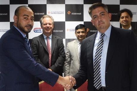 Al Fahim Group firm signs Cyclo distributorship