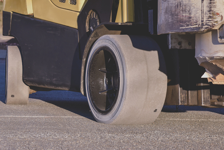 Forklift tyre to mitigate static build-up set for Cemat 2018 launch